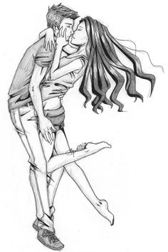 Warner and Juliette from Shatter me Art by Ice Ridden
