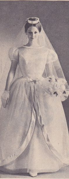 """Brigitte"" wedding dress by Pronuptia - 1960 | von HonorataQueen"