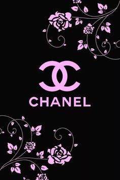 Flowery Wallpaper, Cellphone Wallpaper, Designer Wallpaper, Wallpaper Backgrounds, Iphone Wallpaper, Chanel Wallpapers, Pretty Wallpapers, Chanel Background, Chanel Decor