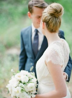 #hairstyles  Photography: Bryan N. Miller Photography - bmillerweddings.com  Read More: http://www.stylemepretty.com/california-weddings/2014/07/23/organic-dinner-party-wedding-inspiration/