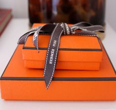 Hmmm, an idea for those three Hermes boxes I can't bear to throw away.