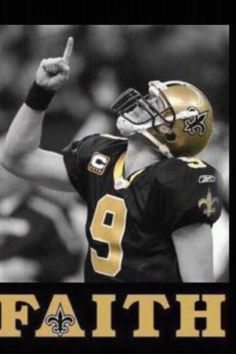 Drew Brees faith!