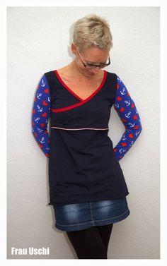 Frau Uschi:  mit Hanseherz Shirt oder Kleid  by #allerlieblichst