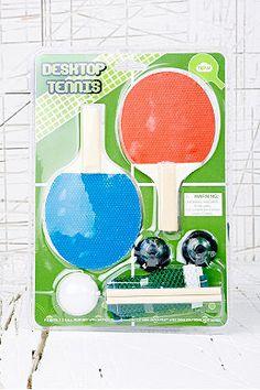 Mini Tabletop Tennis Game