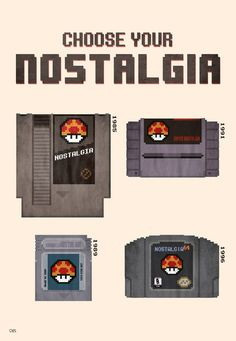 Choose Your Nostalgia  Created bySbs' Things