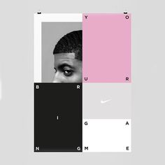 #nike #basketball #brinhyourgame #byg #poster #studiofeixen #colors #layers #simple