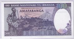 Rwanda Franc   Details about Rwanda 100 Cent Francs UNC