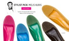 Yay! Studded Flats - in lots of colors