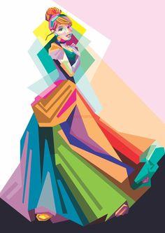 The Art of Animation by Indira Yuniarti - Cinderella