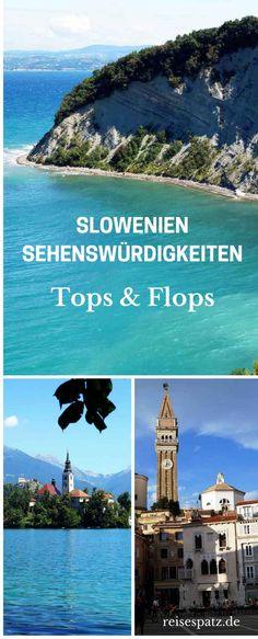 Slovenia Attractions - 3 Tops & 3 Flops Slovenia sights – the tops and flops. Slovenia tips, Slovenia travel. Europe Destinations, Europe Travel Tips, Holiday Destinations, Holiday World, Holiday Places, Europa Tour, Camping Europe, Attraction, Slovenia Travel