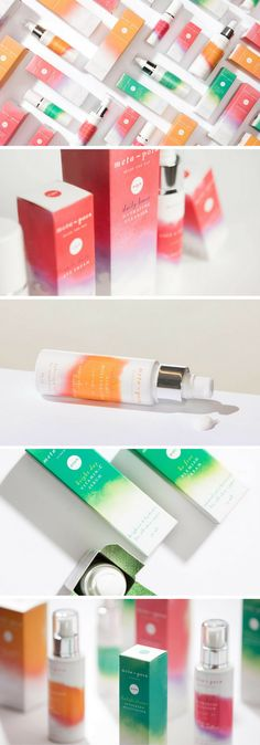 Metapora Skincare packaging by Alexandra Nereuta
