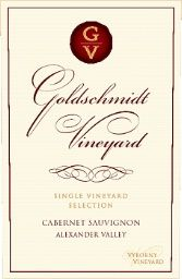 2005 Goldschmidt Vineyard Cabernet Sauvignon Single Vineyard Selection Vyborny Vineyard, USA, California, Sonoma County, Alexander Valley - CellarTracker!