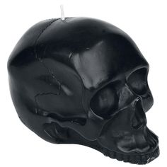 Normal candles are too boring for you? Then check out the Black Skull Candle of the brand Queen Of Darkness. The candle is shaped like a skull - strong! @ EMP $20