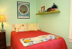 Basil's Colorful, Eclectic, and  Budget-Friendly Room