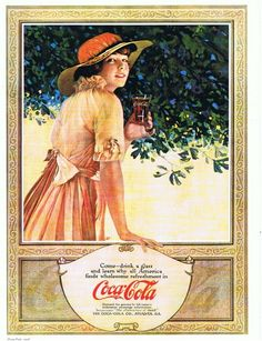 Coca-Cola vintage signs for the kitchen
