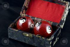Yin and Yang Baoding Balls