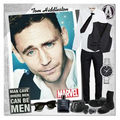 Tom Hiddleston by justlovedesign on Polyvore featuring polyvore, fashion, style, Burberry, Bardot Junior, Chanel, Dot & Bo, BERRICLE, Emporio Armani, Alexander McQueen, Wrangler and tomhiddleston
