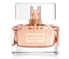 New! Givenchy-Dahlia-Divin-Eau-de-Toilette # Top notes: blood orange, peach; Heart: rose, jasmine; Base: sandalwood, vanilla, musk