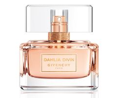 New! Givenchy-Dahlia-Divin-Eau-de-Toilette # Top notes: blood orange, peach; Heart: rose, jasmine; Base: sandalwood, vanilla, musk