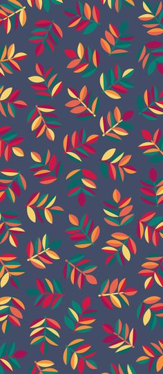 Russfussuk 'Ashfall' Pattern M5A #pattern #patterndesign #patternprint #ash #autumn #fall #leaf #leaves #generative #otoño #cadernos #padrões #russfussuk