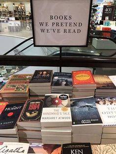 Book Club Books, Book Lists, Reading Lists, I Love Books, Books To Read, Ya Books, Margaret Atwood, Library Displays, Book Aesthetic