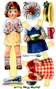 Postcard Paper Dolls - Debbie - Picasa Albums Web