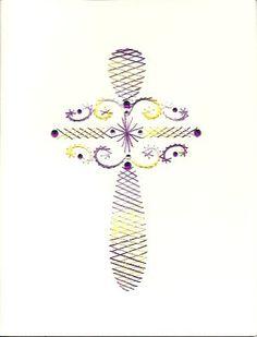 Cross by HandmadeCardsByAnita on Etsy