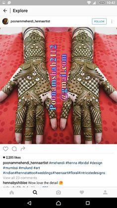 Mehndi design More Mehandi Designs Images, Peacock Mehndi Designs, Full Hand Mehndi Designs, Stylish Mehndi Designs, Bridal Henna Designs, Mehndi Design Pictures, Mehndi Patterns, Beautiful Henna Designs, Latest Mehndi Designs