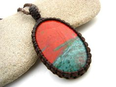 RARE Sonoran Sunrise, Sonoran Sunrise necklace, Chrysocolla Necklace, Designer stone, rare, healing gemstones and crystals, OOAK