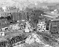 Original Overgate being demolished