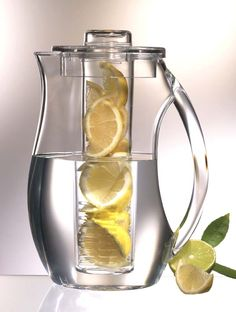I have one of theses and love it for infusing water.  Still trying to discover my favorite.  So far I love water infused with fresh peach.  Want to try combinations of fruit and herbs.