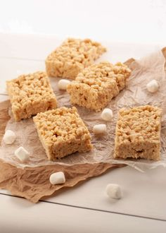 Dairy & Gluten-free Salted Caramel Rice Krispies (Top 8 free too!) | Allergy Awesomeness