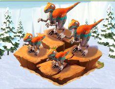 Ice Age Village...... Familia Velociraptor