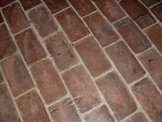 How to Install Kitchen Brick Flooring