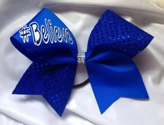 Glitter Cheer Bow by TheBowForce on Etsy, $12.00
