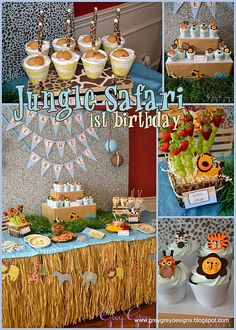 Jungle Safari birthday