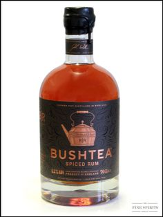 A quick chat with the makers of Bushtea Rum - The Fine Spirits Company