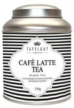 Tafelgut Black and White, Café Latte Tea, Schwarzteemischung
