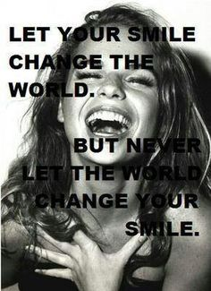 Share your smile, it's contagious xx and will bless someone...maybe someone who could REALLY use it!