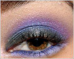 Glitter Makeup: Stila Jewel Eye Palette Look