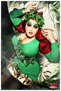 Poison Ivy | Coolest DIY Plus Size Costumes for Women - maskerix.com