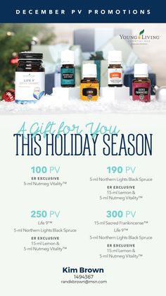 Free essential oils and probiotic Life 9 from Young Living essential oils in the month of December!! Love my freebies