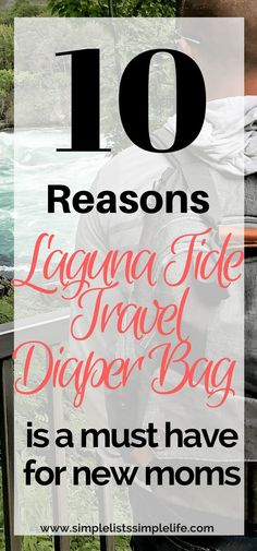 This is the best diaper bag for moms. A must have for the baby registry! The Laguna Tide Travel Diaper Bag is the best diaper bag I have come across. Baby Rolling Over, Best Diaper Bag, Diaper Backpack, Diaper Bags, Breastfeeding Problems, Quotes About Motherhood, Baby Development, First Time Moms, Everything Baby