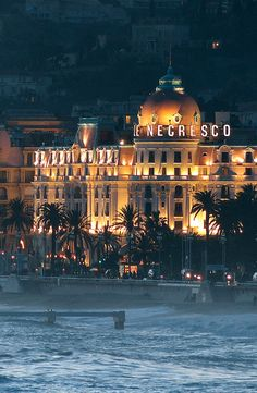 Negresco Hotel, Nice, French Riviera                                                                                                                                                     More