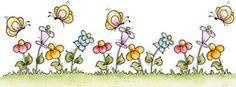 Bordes de flores para imprimir-Imagenes y dibujos para imprimir