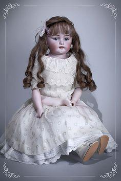"antique doll Simon&Halbig_1080 / German  **""Uh, okay. How much longer did you say?""**"