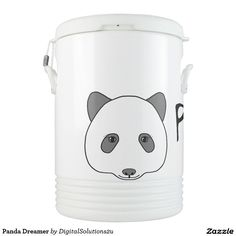 Panda Dreamer Beverage Cooler