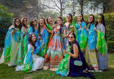 A Quintessential Punjabi Bride In Sabyasachi & Her International Love Affair. Check out photos, ideas & stories shared by Bride & Groom. Lehenga Wedding, Wedding Gowns, Wedding Outfits, Wedding Bride, Indian Bridesmaids, Bridesmaid Dresses, Photoshoot Inspiration, Wedding Inspiration, Wedding Blog