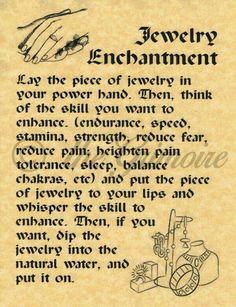 Jewelry Enchanting