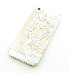 H34 Clear Plastic Case Cover iPhone 6Plus 5.5 Henna Half by STUCHI